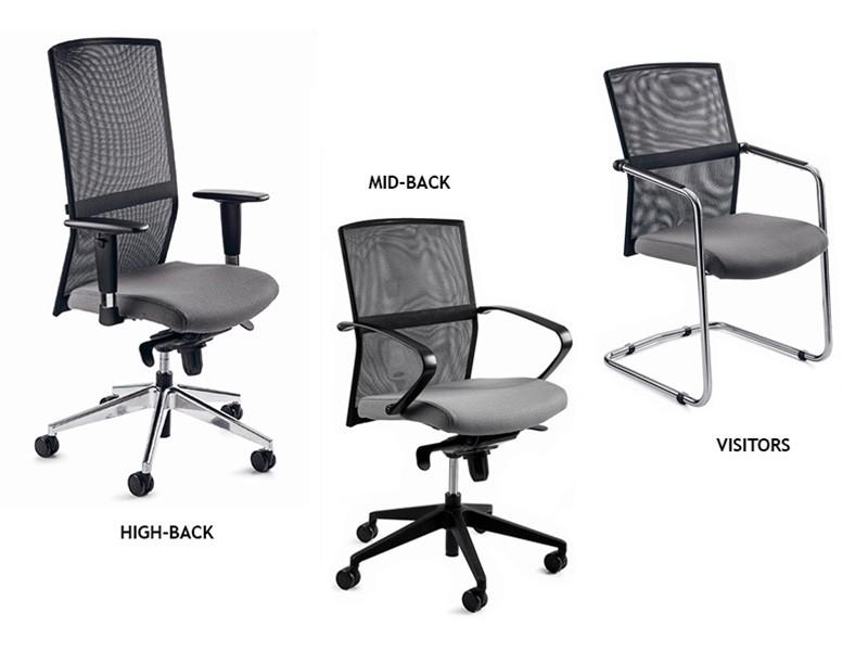 Zehn Netback Chair Range